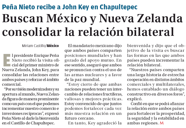33 John Key in Latin America NZ Politics Bryce Edwards