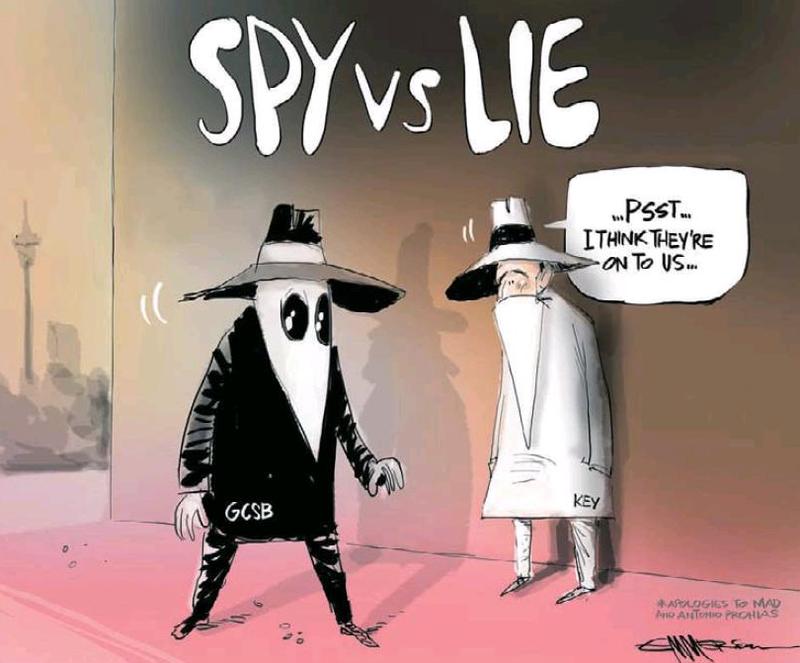 7 NZ Herald 4 April 2013 John Key GCSB spies