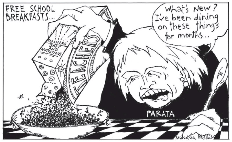 1 free school breakfasts parata NZ Politics Daily - Bryce Edwards Otago University liberation blog - www.liberation.org.nz