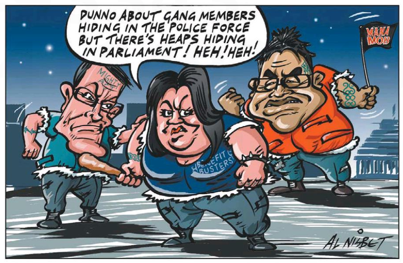 Z gangs parliament Sunday Star Times NZ Politics Daily - Bryce Edwards Otago University liberation blog - www.liberation.org.nz
