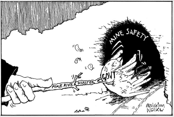 A Pike River 15 NZ Politics Daily - Bryce Edwards Otago University liberation blog - www.liberation.org.nz