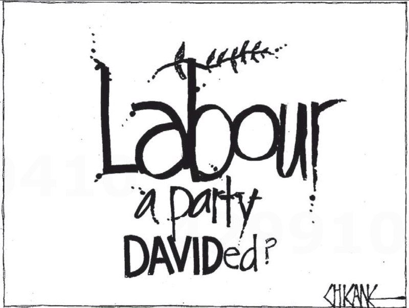 30 Labour Party David Shearer Cunliffe NZ Politics Daily - Bryce Edwards Otago University liberation blog - www.liberation.org.nz
