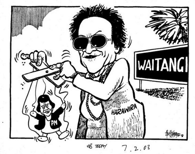 5 Titewhai Harawira Waitangi Day - Bryce Edwards NZ Politics