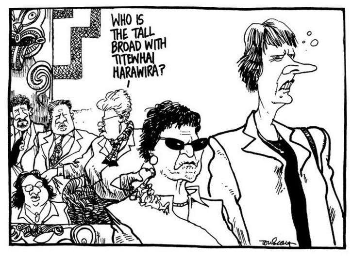 11 Titewhai Harawira Waitangi Day - Bryce Edwards NZ Politics