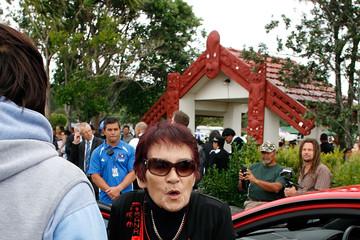 27 Titewhai Harawira Waitangi Day - Bryce Edwards NZ Politics