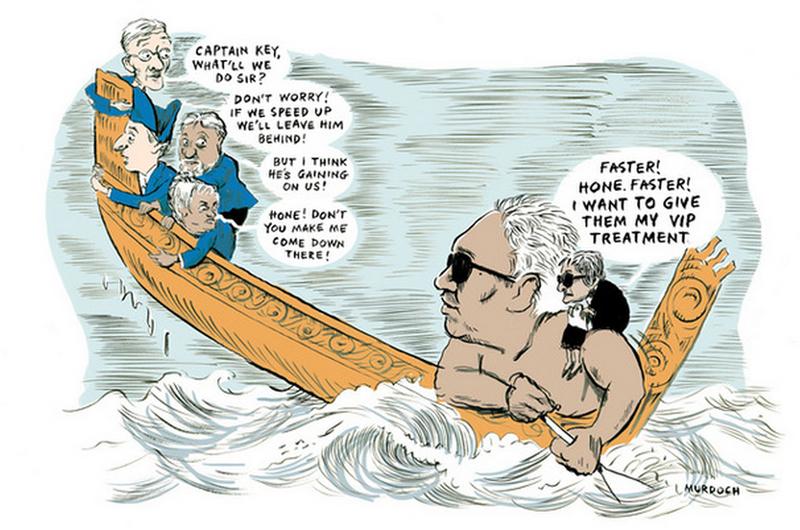 29 Titewhai Harawira Waitangi Day - Bryce Edwards NZ Politics