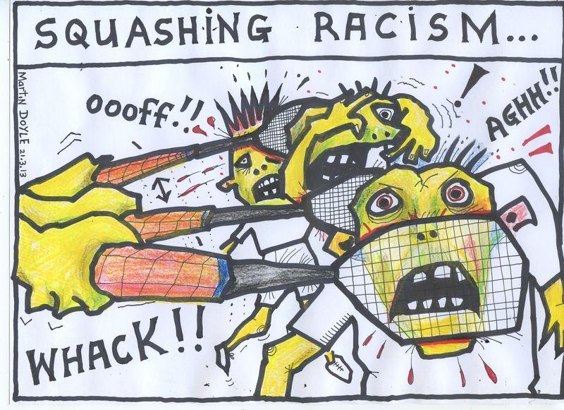 Squashing_racism