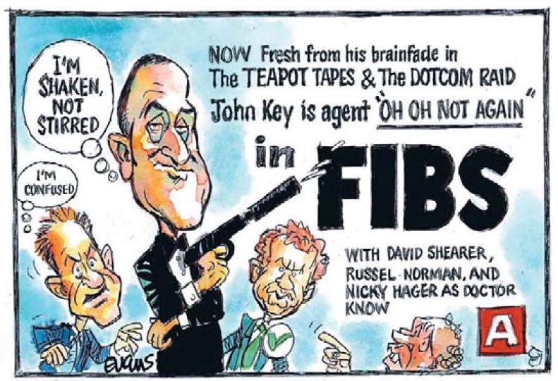 11 Timaru Herald 5 April 2013 John Key GCSB