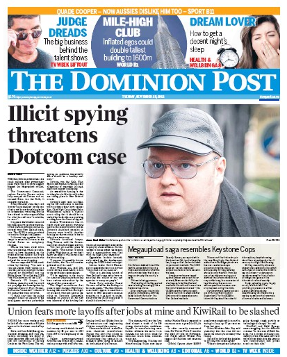 26 Dotcom A newspaper Dotcom NZ Politics Daily - Bryce Edwards Otago University liberation blog - www.liberation.org.nz