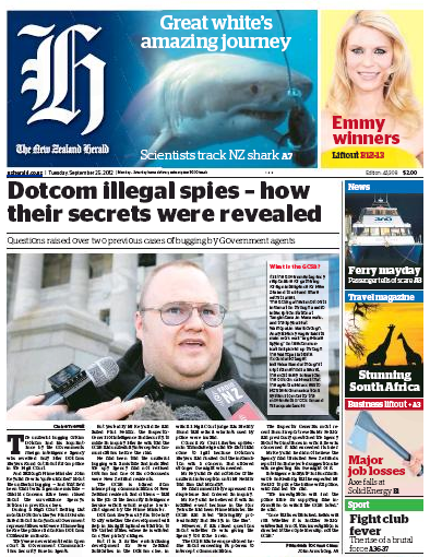 29 Dotcom Herald NZ Politics Daily - Bryce Edwards Otago University liberation blog - www.liberation.org.nz