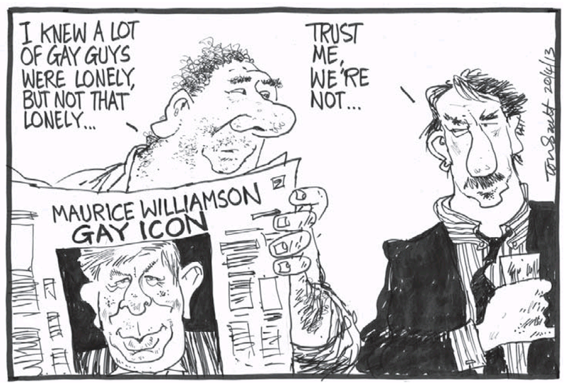 Dominion Post 20 April 2013 Maurice Williamson gay marriage