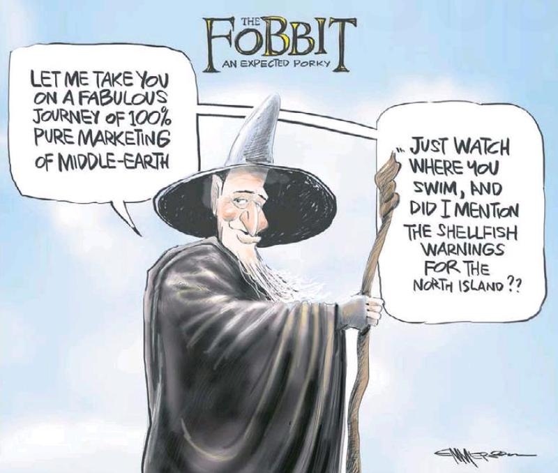 3 The Hobbit Peter Jackson NZ Politics Daily - Bryce Edwards Otago University liberation blog - www.liberation.org.nz