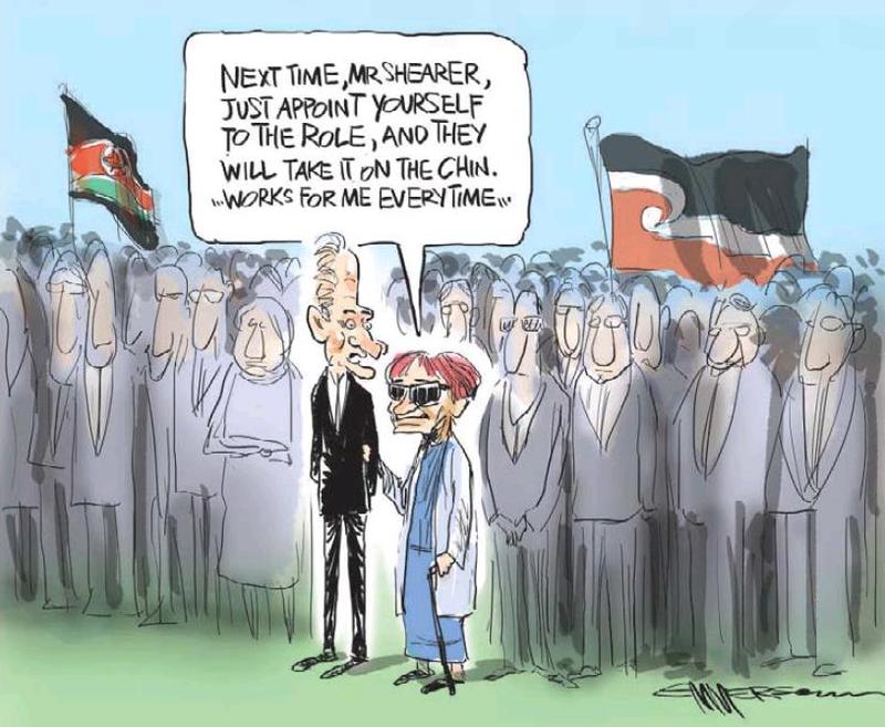 38 NZ Herald 5 February 2013 Titewhai Harawira David Shearer Waitangi Day - Bryce Edwards NZ Politics