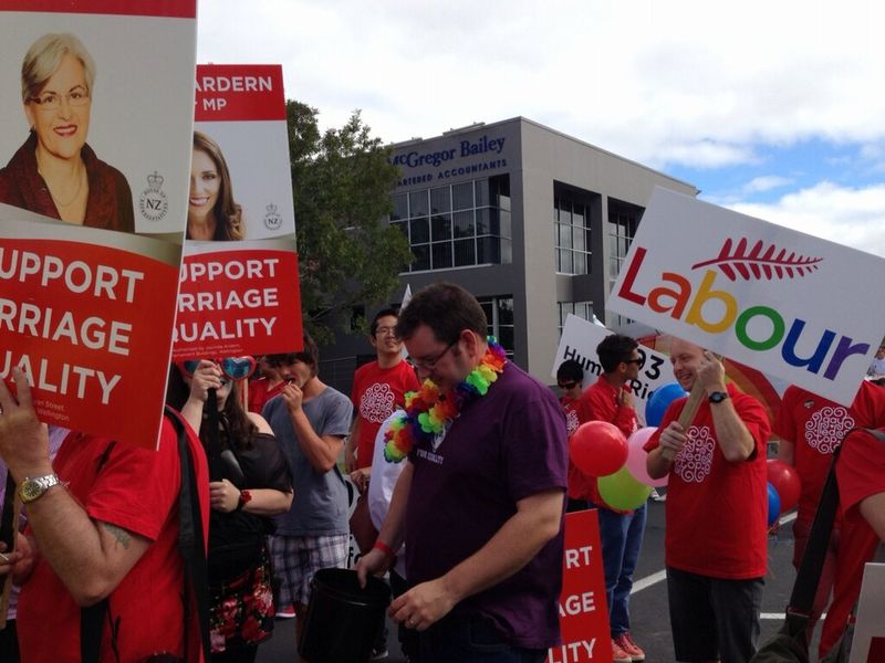 1 8 gay pride labour NZ Politics Daily - Bryce Edwards Otago University