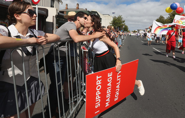 A 4 gay pride jacinda ardern labour NZ Politics Daily - Bryce Edwards Otago University