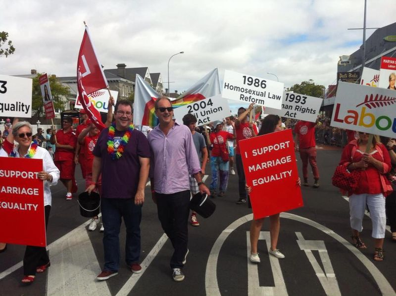 A 11 gay pride NZ Politics Daily - Bryce Edwards Otago University