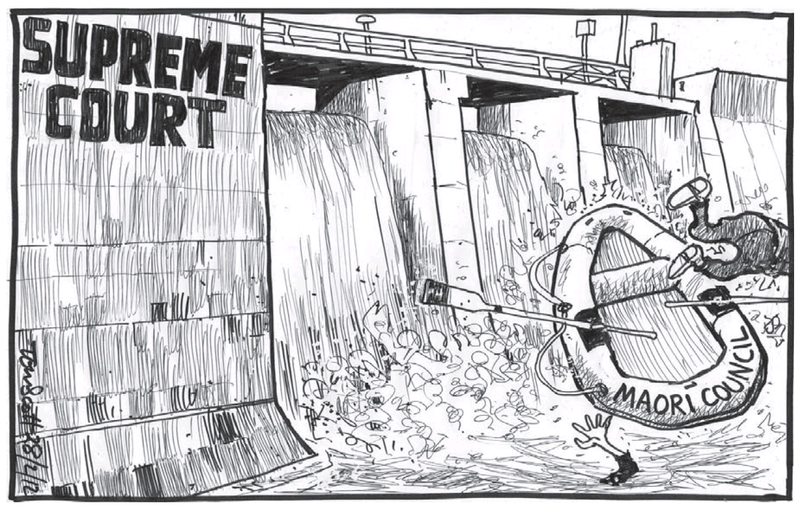 Dominion Post 1 March 2013 supreme court water maori council asset sales