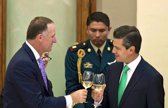 9 John Key in Latin America NZ Politics Bryce Edwards