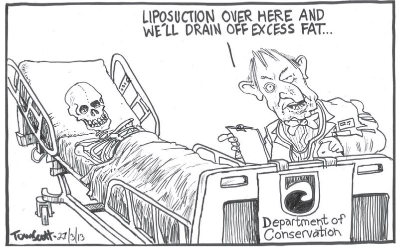 1 Dominion Post 27 March 2013 DOC cuts Nick Smith