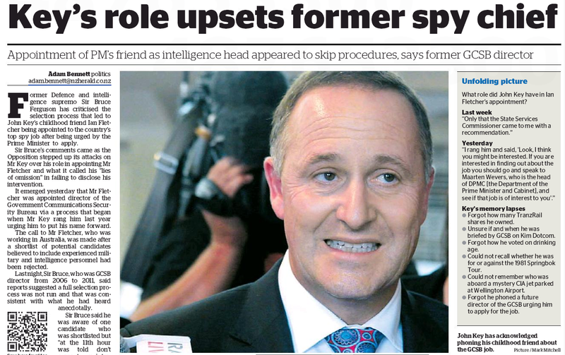 20 NZ Herald 4 April 2013 John Key GCSB