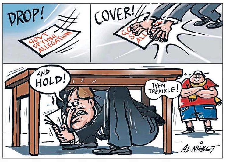 28 A spying illegal john key NZ Politics Daily - Bryce Edwards Otago University liberation blog - www.liberation.org.nz