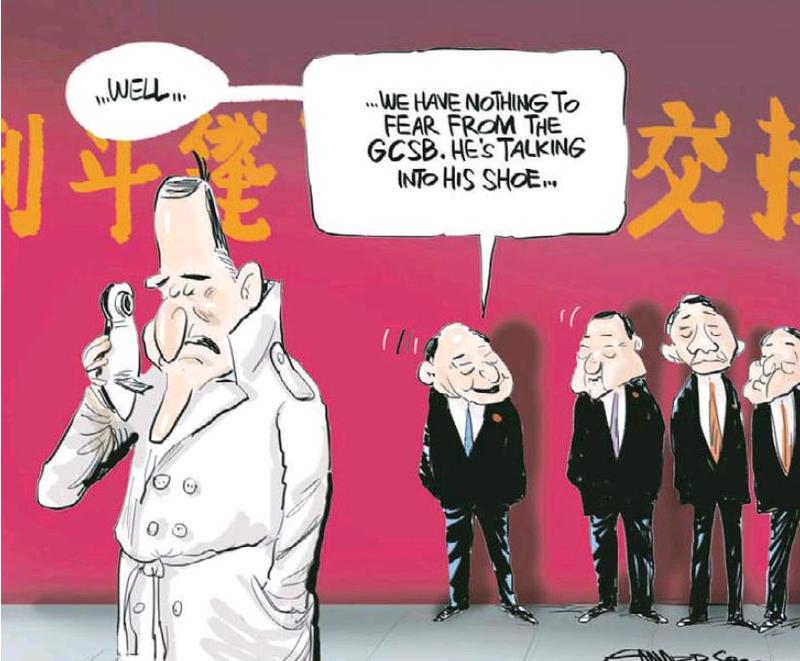 1.1 NZ Herald 12 April 2013 John Key GCSB