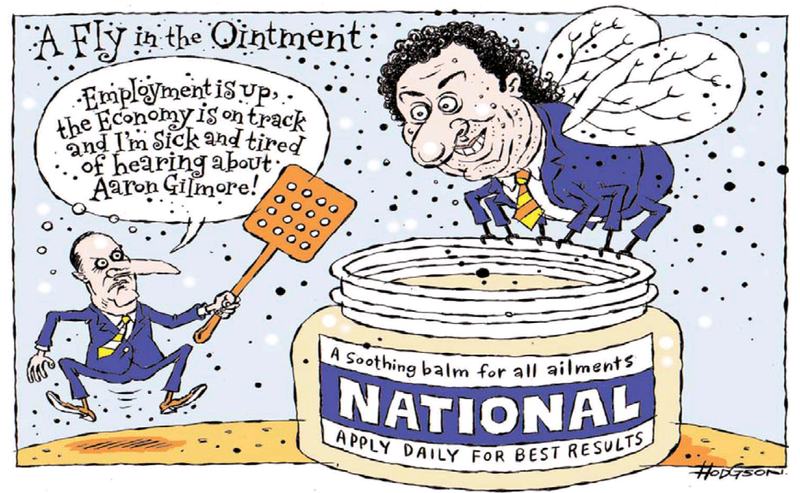 Z Dominion Post 13 May 2013 Aaron Gilmore