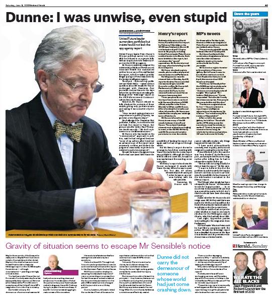 D NZ Herald 8 June 2013 Peter Dunne