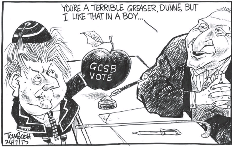 C Dominion Post 24 July GCSB Peter Dunne