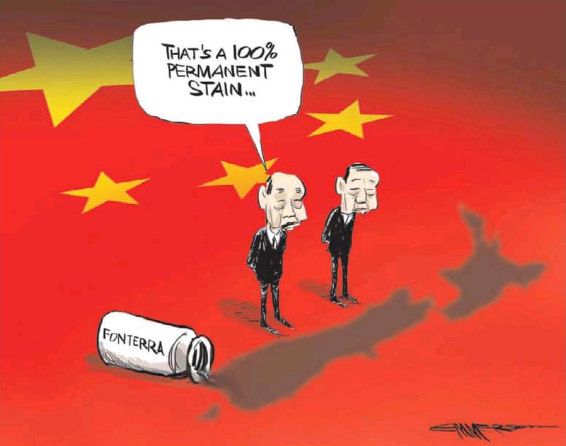 NZ Herald 8 August 2013 Fonterra China