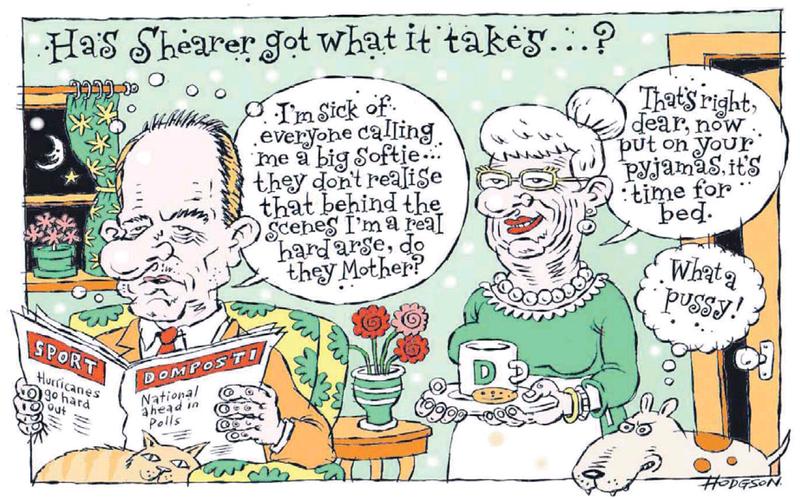 Dominion Post 15 July 2013 Shearer Labour