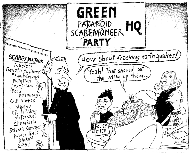 14 green party scaremonger NZ Politics Daily - Bryce Edwards Otago University liberation blog - www.liberation.org.nz