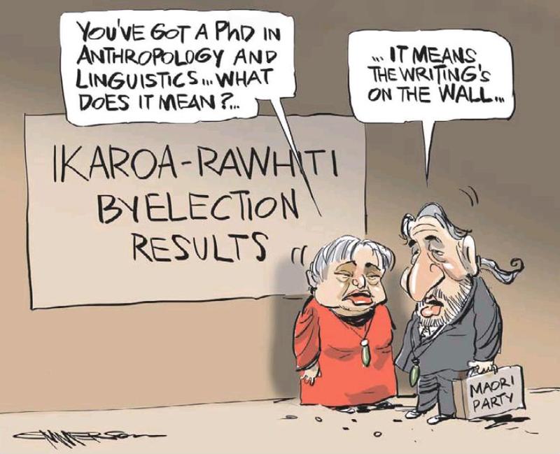 NZ Herald 2 July 2013 Pita Sharples Maori Party