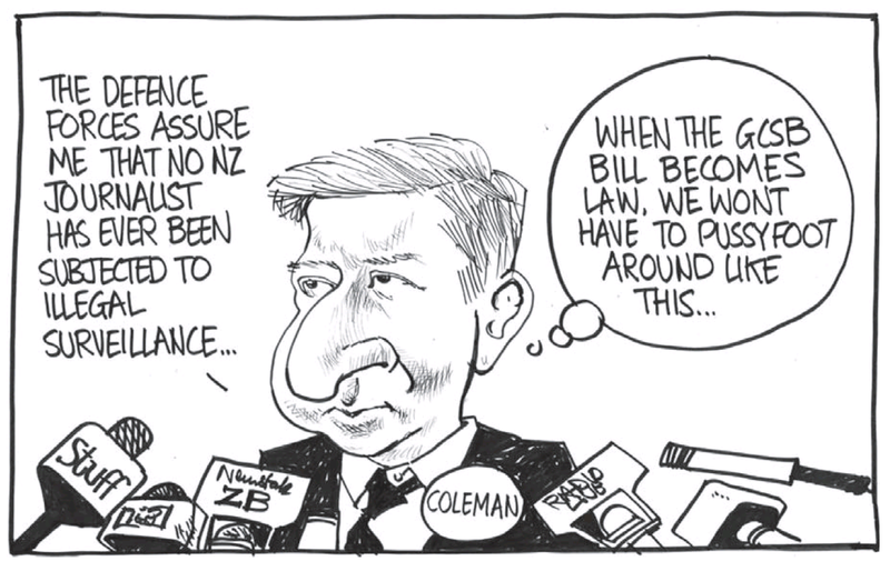 Dominion Post 30 July 2013 spying NZDF
