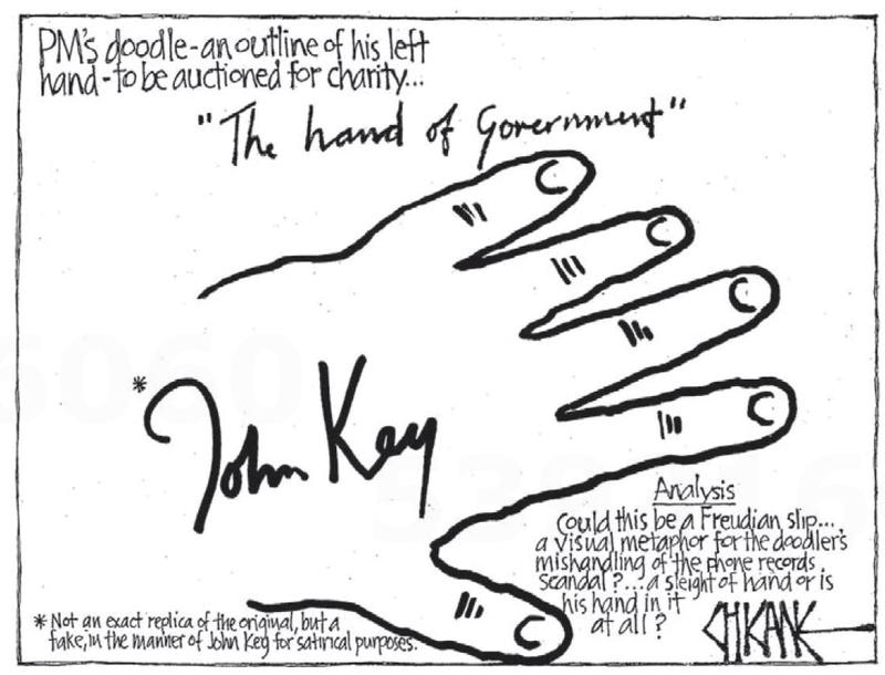 Southland Times 3 August 2013 John Key