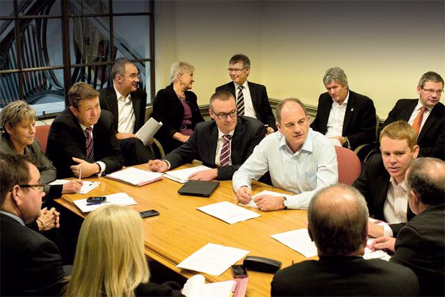 In-Focus-David-Shearer-Labour-Caucus