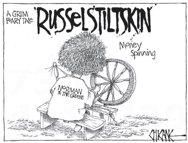 8 Russel Norman printing money