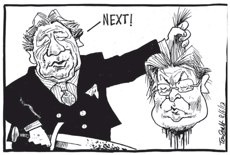 A Dominion Post 8 June 2013 Peter Dunne Winston Peters