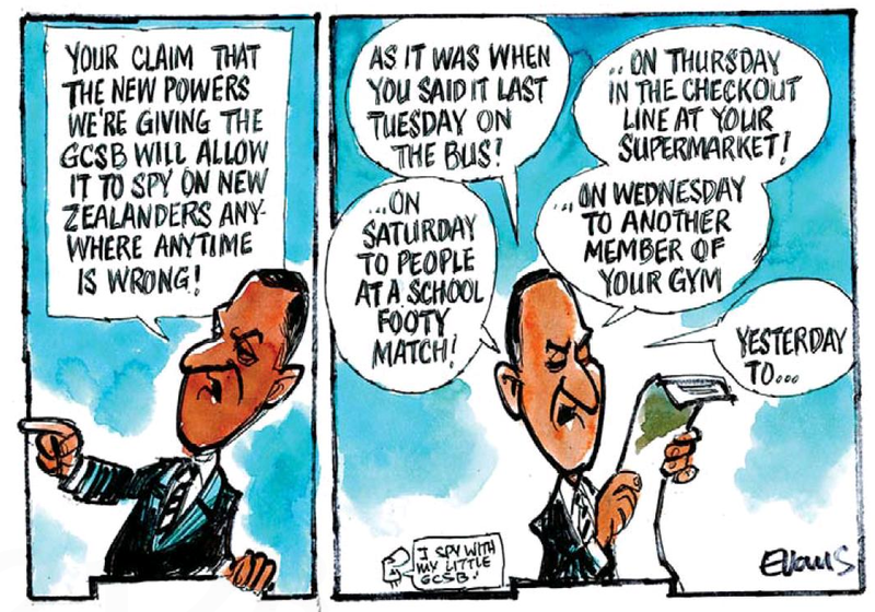 The Press 26 June 2013 GCSB John Key