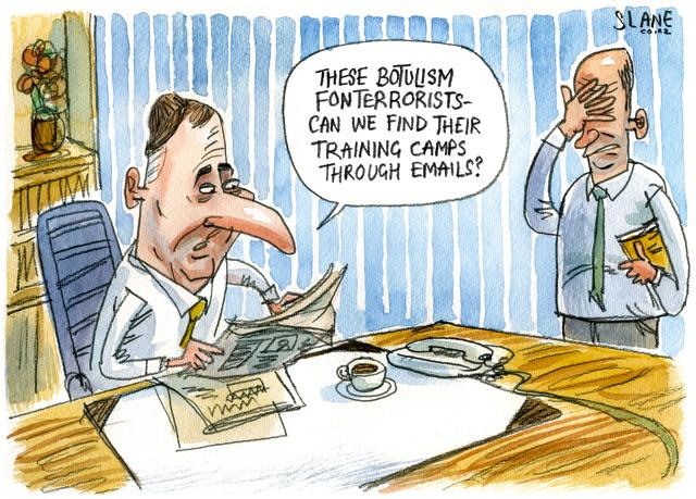 Listener 8 August 2013 POLITICS-Cartoon-John-Key-Fonterra
