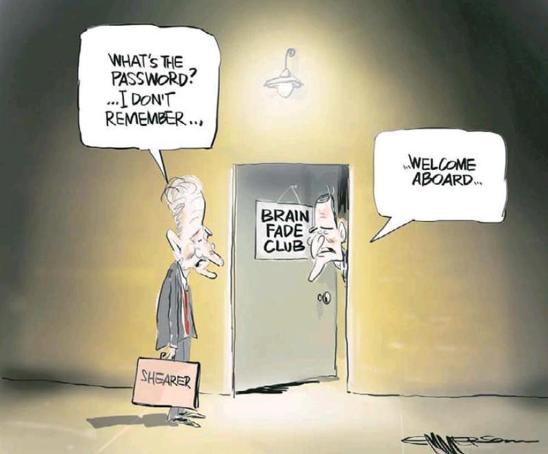 NZ Herald 20 March 2013 Brain fade David Shearer