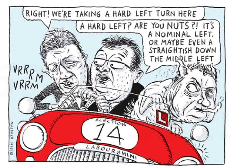 Murdoch - Waikato Times 31 August 2013 Labour leadership