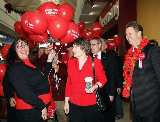 Helen Clark David Cunliffe Labour