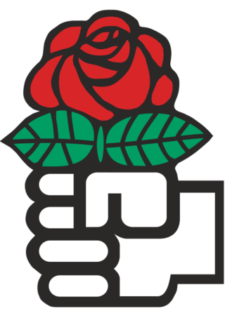 Labour Red_Rose_(Socialism). Bryce Edwards