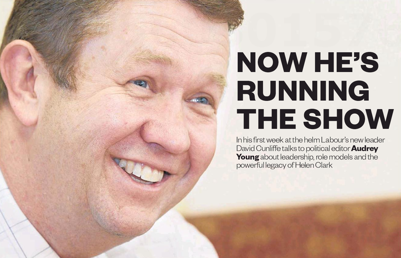 3 - David Cunliffe now he's running the show Labour Party - Bryce Edwards