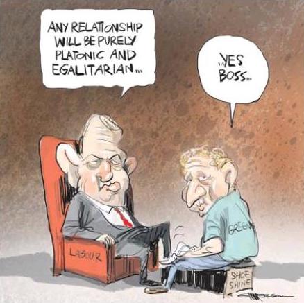 Emmerson - NZ Herald 26 October 2013 Labour Greens