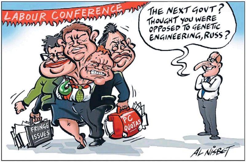 Al Nisbet - Sunday Star Times 3 November 2013 Labour Cunliffe
