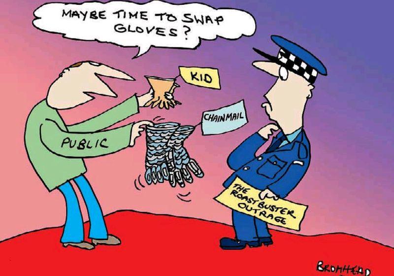 Bromhead - NZ Herald 10 November 2013 Roast busters rape police