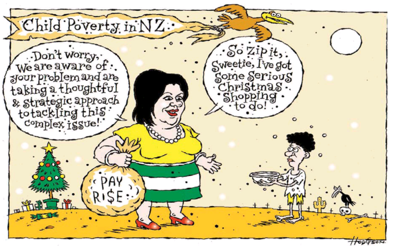 Hodgson - Dominion Post 10 December 2013 child poverty
