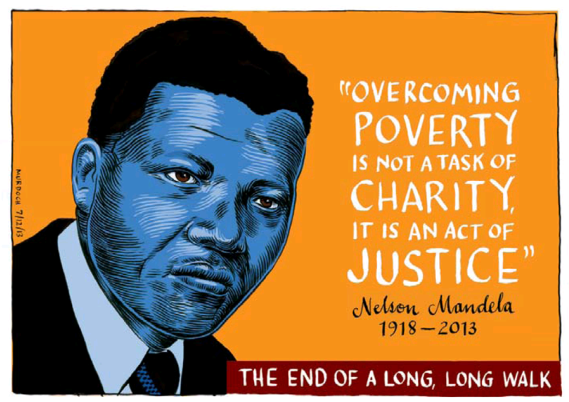 Murdoch - Dominion Post 7 December 2013 Nelson Mandela